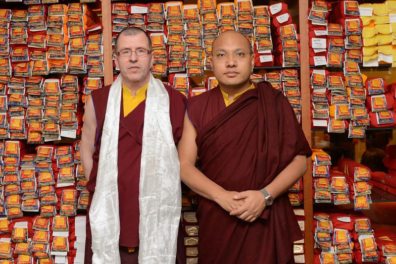 Karmapa audience April 14 2016